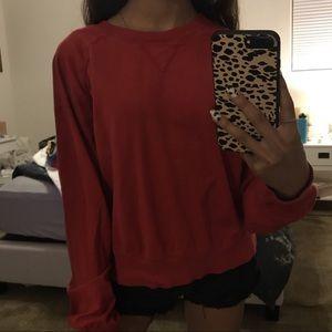 cute red sweater
